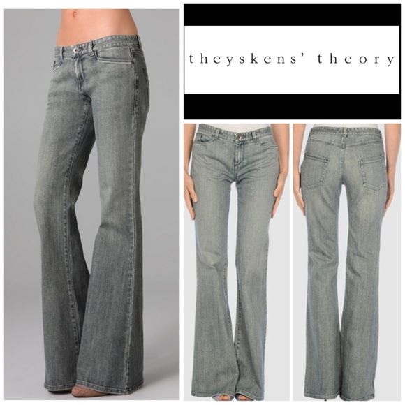 DENIM - Denim trousers Theyskens Theory Cheap Sale Outlet Store OaCjSa