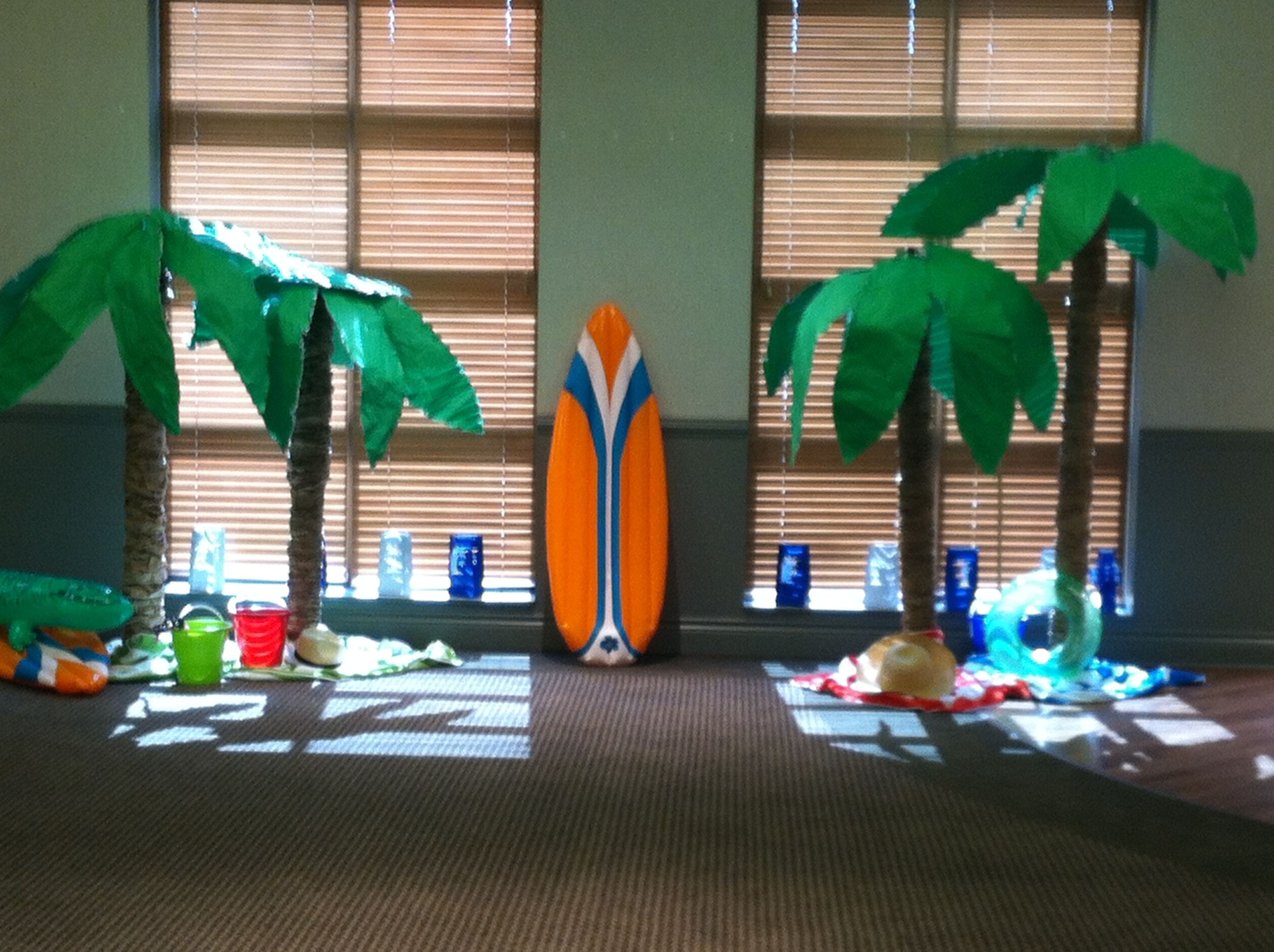 decorations accessories palm for diy artificial hawaii wedding in table beach item party luau leaves decor decoration theme tropical
