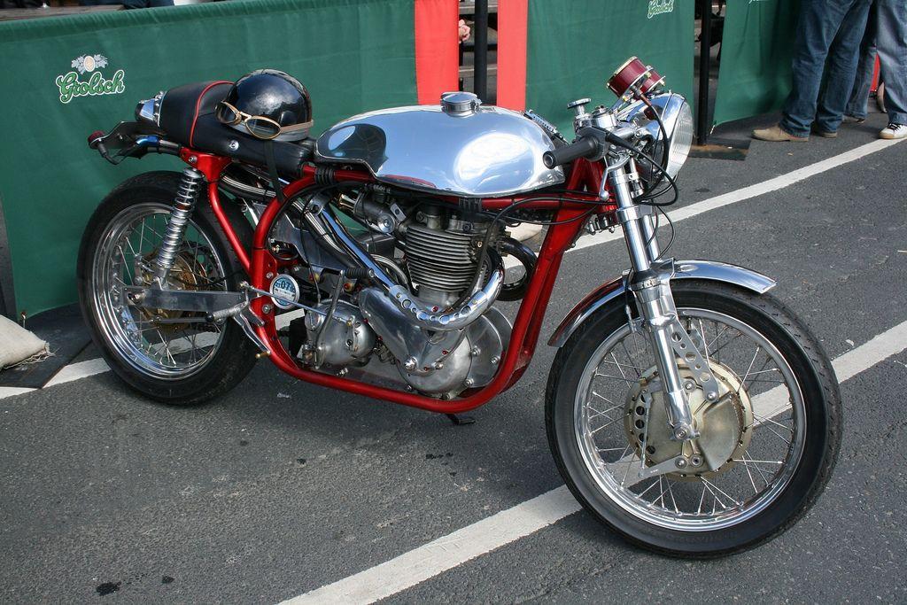 Nice British cafe racer