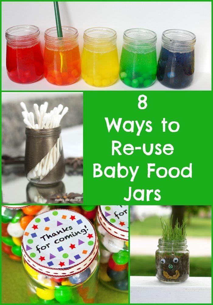 Ways To Re Use Baby Food Jars Baby Food Jars Baby Food Jar Crafts Beechnut Baby Food
