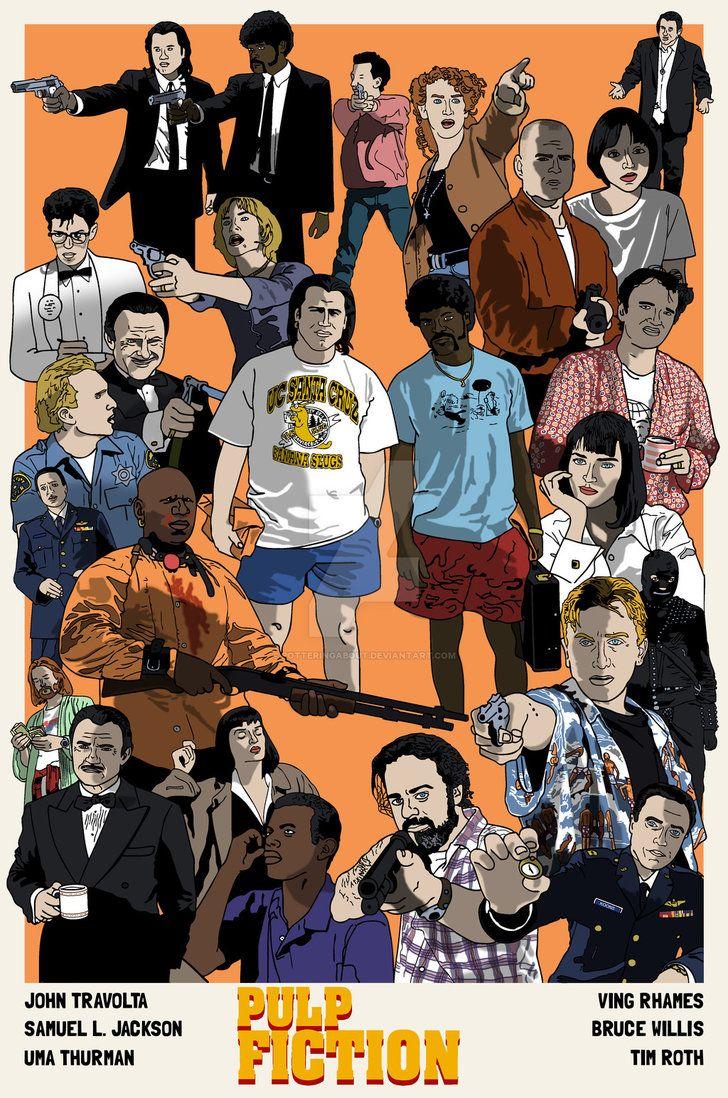 Pin de BrotherTedd.com en Pulp Fiction | Pinterest | Películas, Cine ...