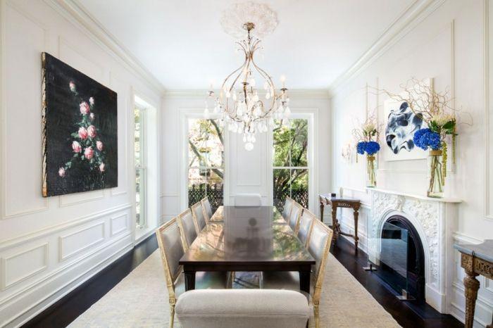Kamin Design in der Wohnung- 37 moderne und klassische Interieure