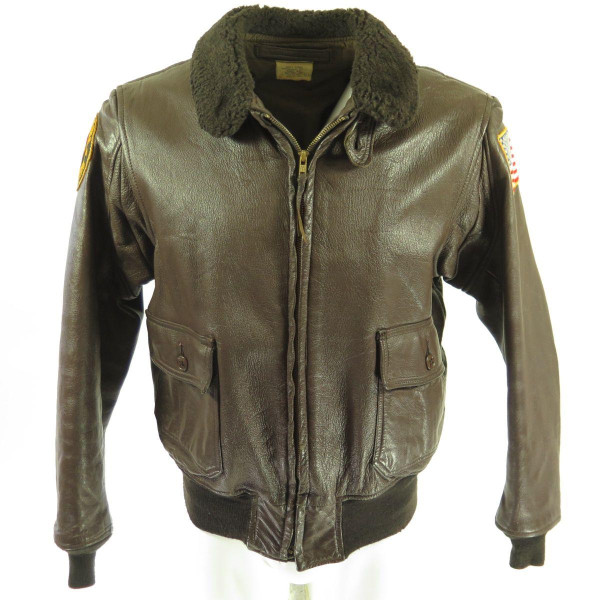 Marine corps leather jacket
