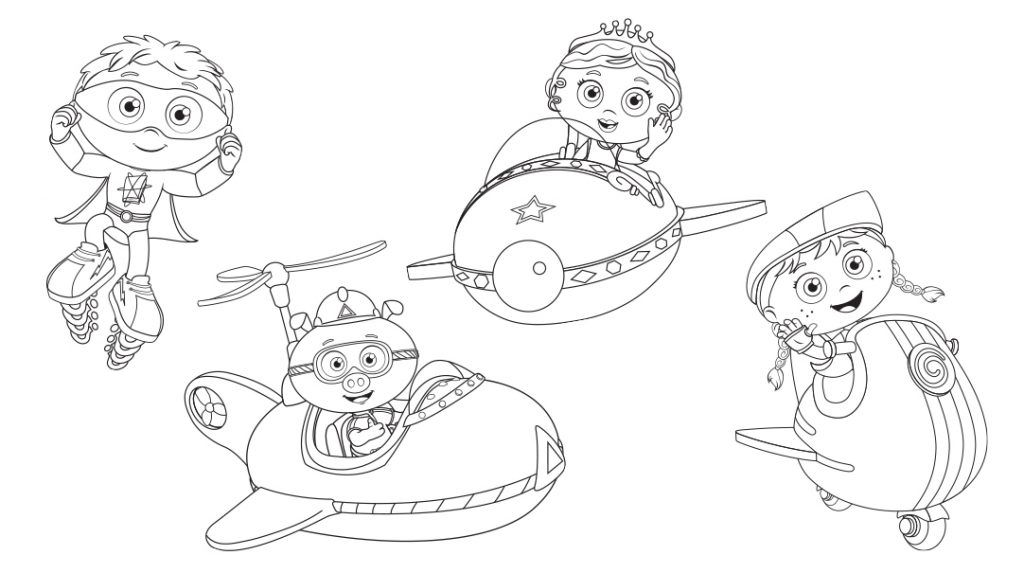 Super Why Coloring Pages | Super coloring pages, Super why ...
