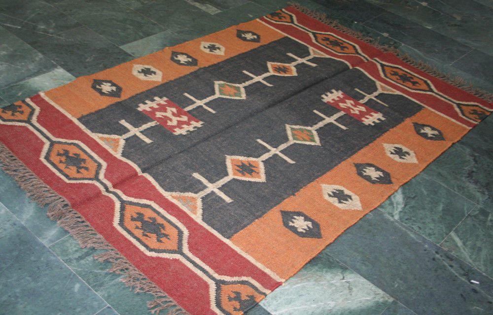 Rugs & Carpets Hand Woven Wool Rug Turkish Kilim Dhurrie Persian Oriental Area Christmas Gift