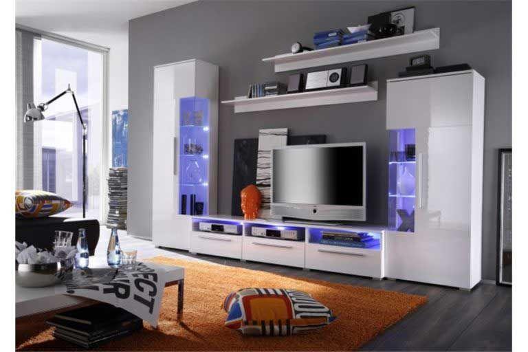 Joli Meuble Tv Mural Pas Cher Ensemble Noa 768 215 512 En 2020 Meuble Tv Design Meuble Tv Meuble Tv Mural