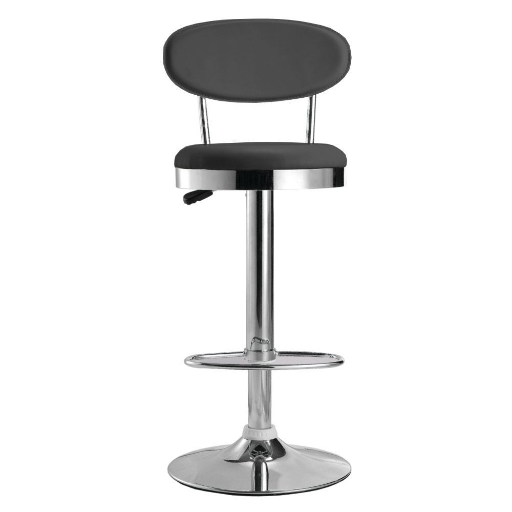 Maxmod beer bar stool chair in black black plastic bar stool