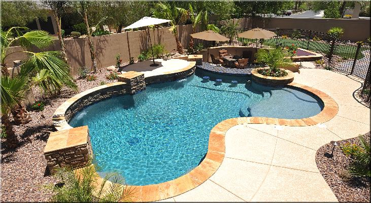 Swimming pool design for the home pinterest pool for Pool design az