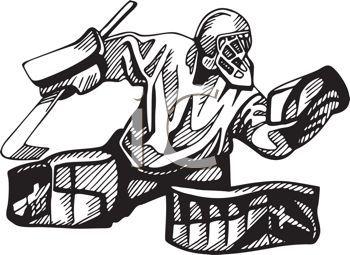 Goalie Hockey Goalie Clip Art