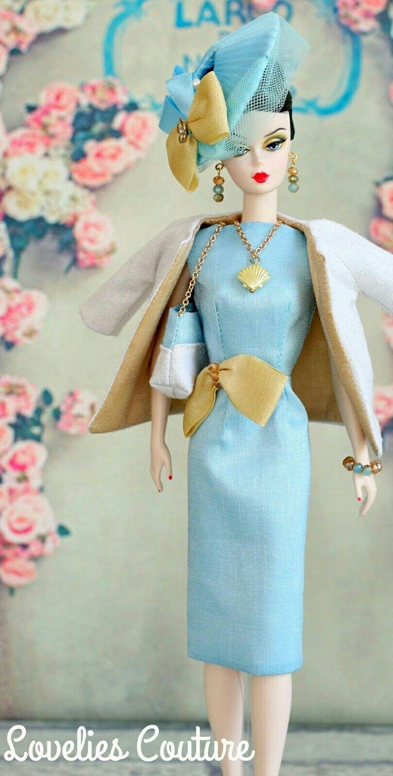 Silkstone Barbie in blue...