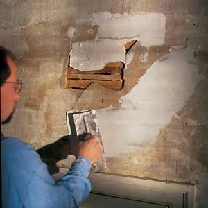 Patching Plaster For The Home Repair