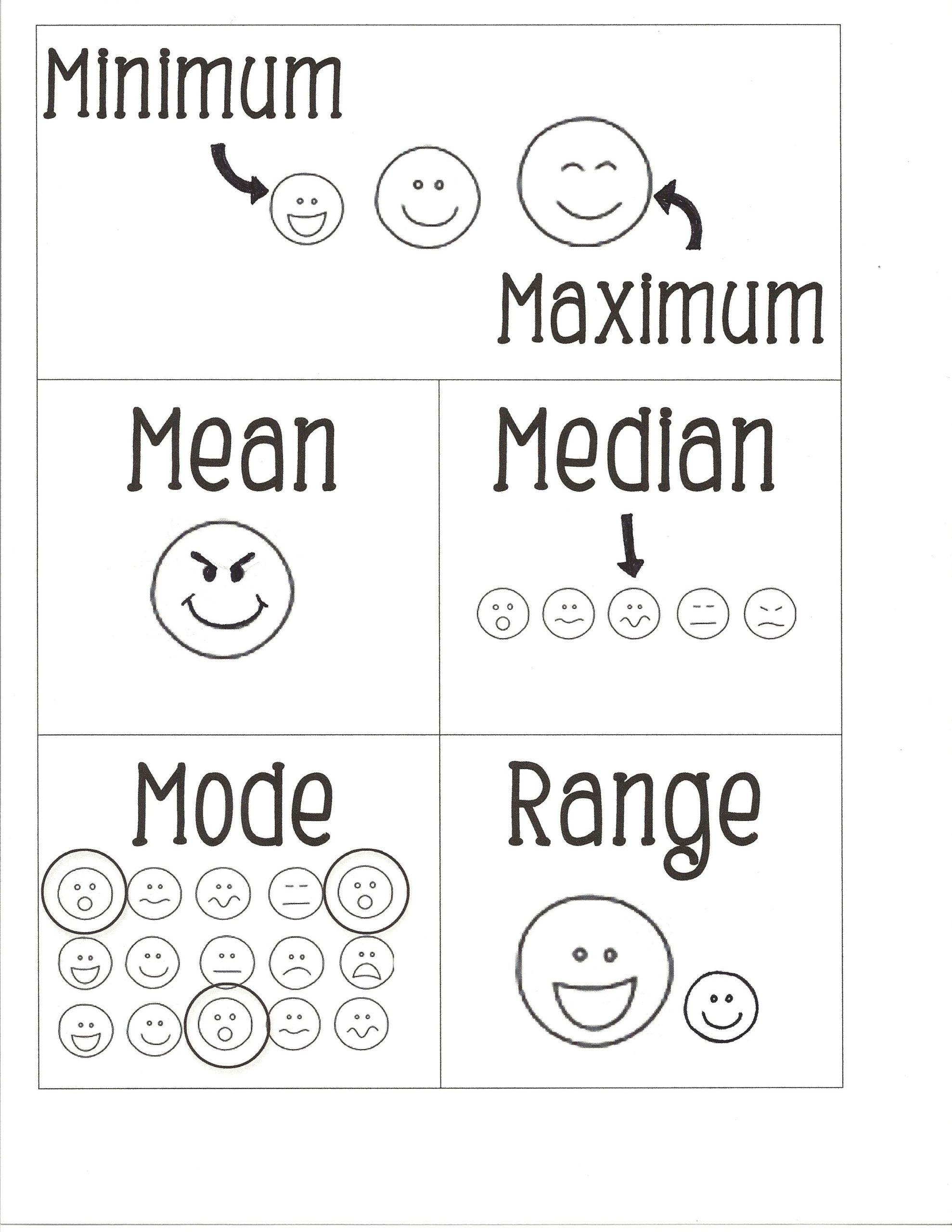 Pictograph Worksheets For Kindergarten Worksheet For Kindergarten Free Math Worksheets Mean Median And Mode Math Worksheets [ 2560 x 1978 Pixel ]