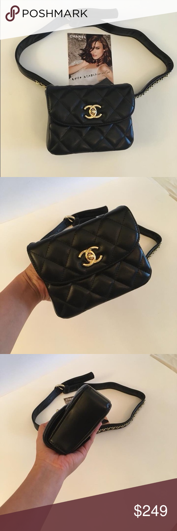 72de75917ebe Chanel VIP Gift Fanny Pack Waist Belt Quilted Bag Brand new. Beautiful VIP  gift fanny