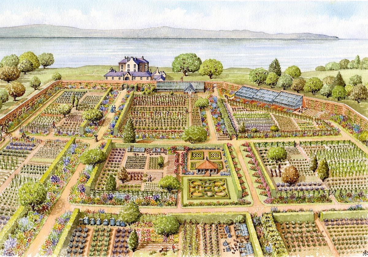 Crawfordsburn Walled Garden, Co Down Crawfordsburn Walled Garden ...