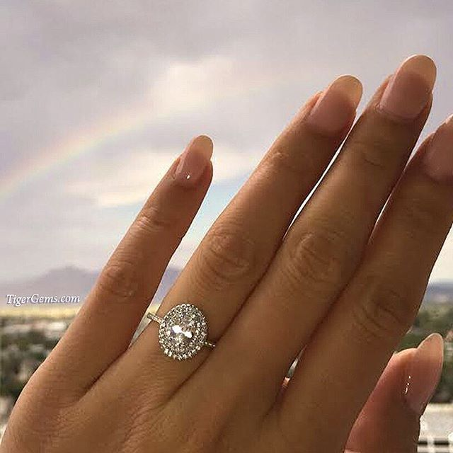 Instagram Photo By Beautiful Handmade Jewelry Aug 15 2015 At 9 56pm Utc Wedding Rings Halo Double Halo Engagement Ring Engagement Rings