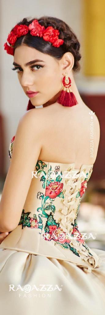 a3b74117af Virgin de Guadalupe Quinceanera Dress by Ragazza Fashion Style M11 ...