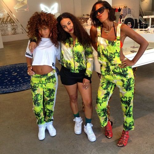 Squad..how cute and corny is this ? Lol | Squad outfits