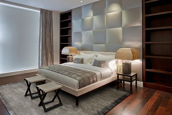 10 fotos e ideas para decorar la pared del cabecero de la cama ideas para el hogar - Como decorar la pared del cabecero de la cama ...