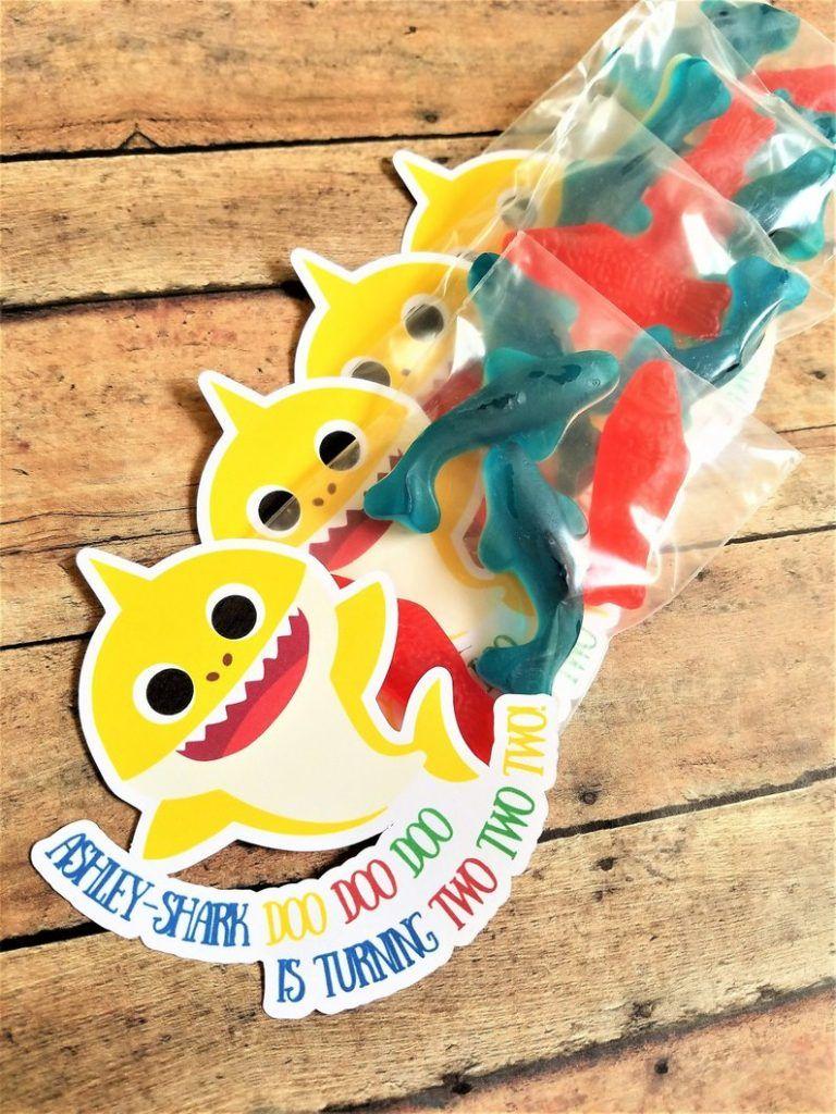 Shop Spotlight Baby Shark Shark party favors, Shark