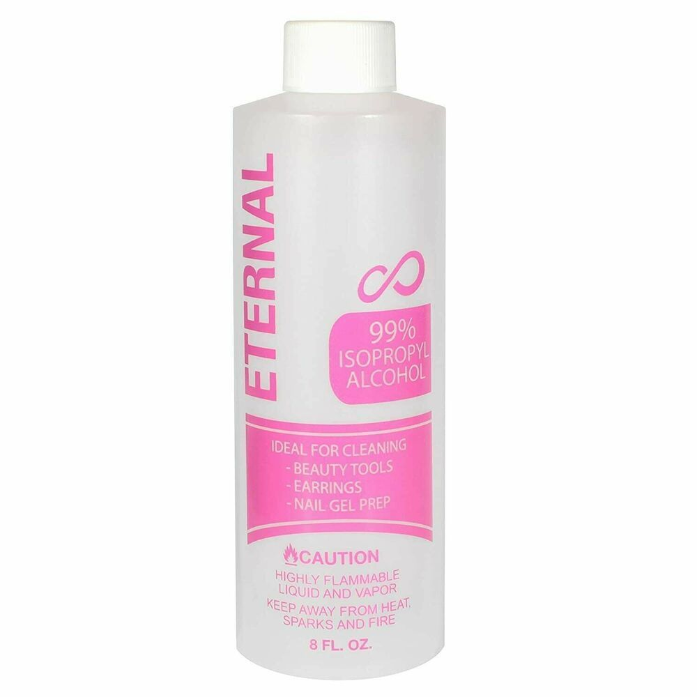 Eternal 99% Isopropyl Alcohol for Beauty Tools, Earrings and Nail Gel Prep 8 oz....#alcohol #beauty #earrings #eternal #gel #isopropyl #nail #prep #tools