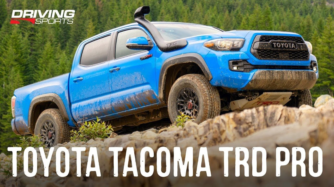 2019 2020 Toyota Tacoma Trd Pro Off Road Review Toyota Tacoma Toyota Tacoma Trd Pro Toyota Tacoma Trd