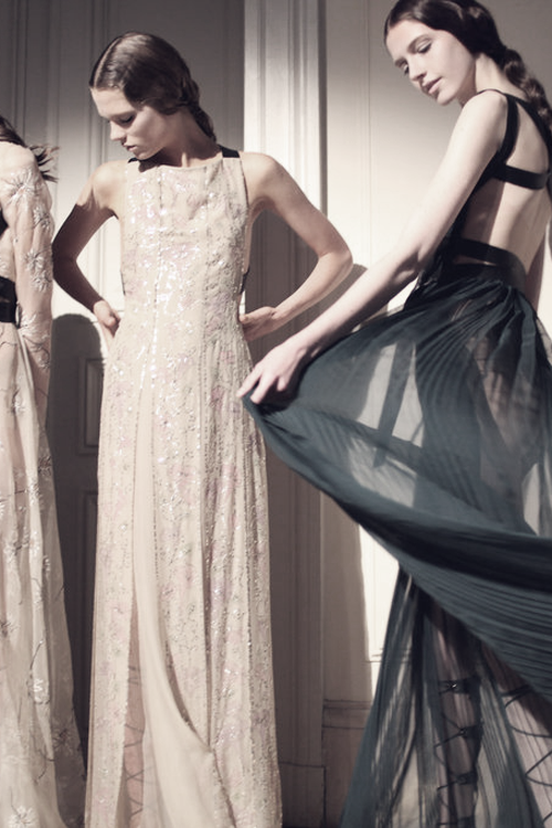 Valentino Haute Couture | Backstage Fall 2014