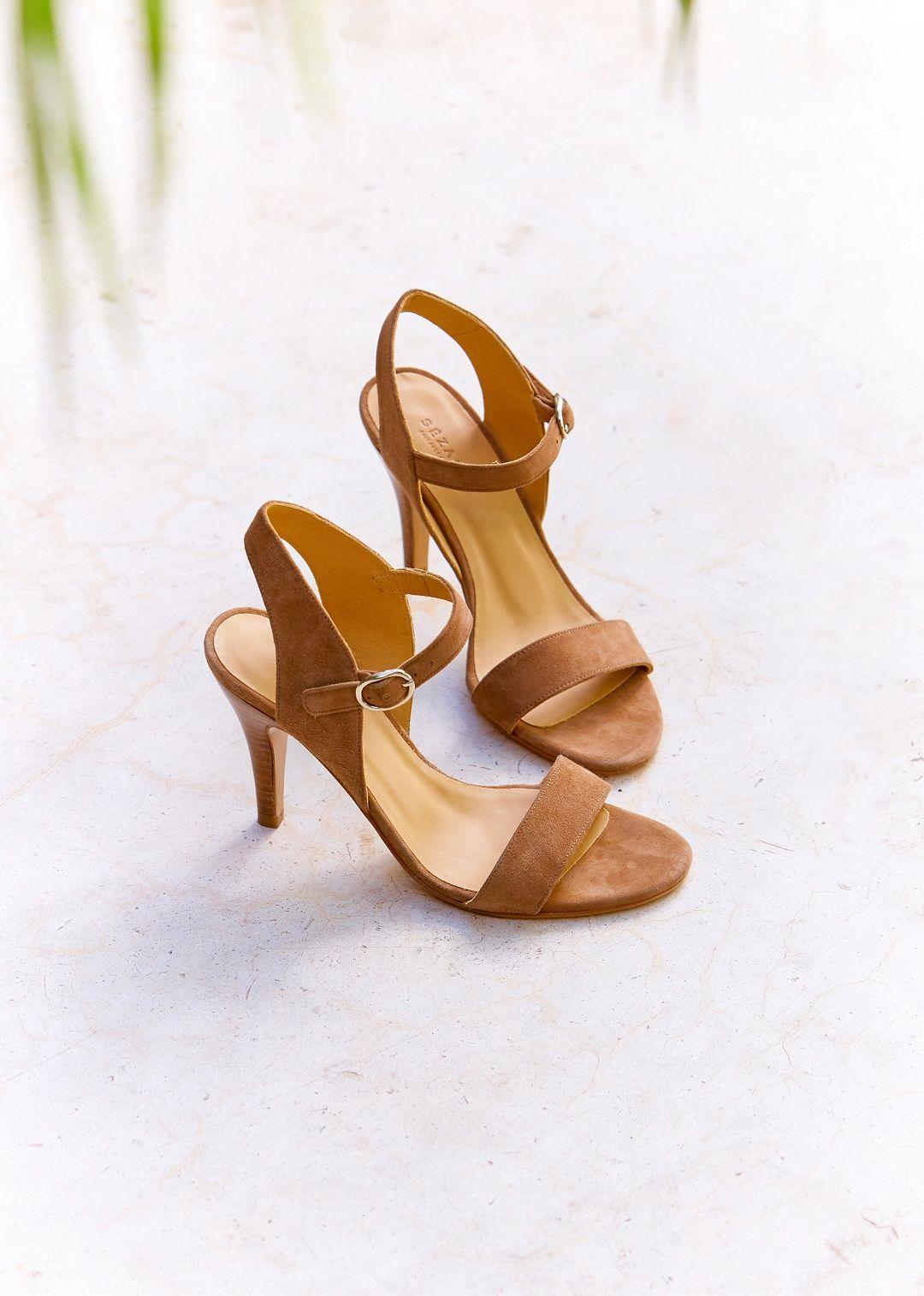 34c9b09b68e0 Sézane - Sandales High Kelly | shoes | Sezane chaussures, Chaussures ...
