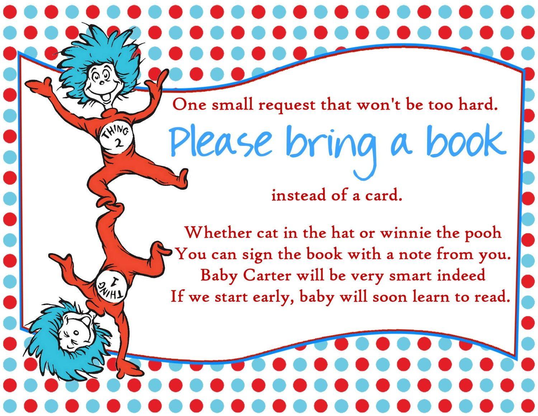 Dr Seuss Baby Shower Invitations Printable Free 14 Best Photos Of Dr Seuss Template Ba Shower