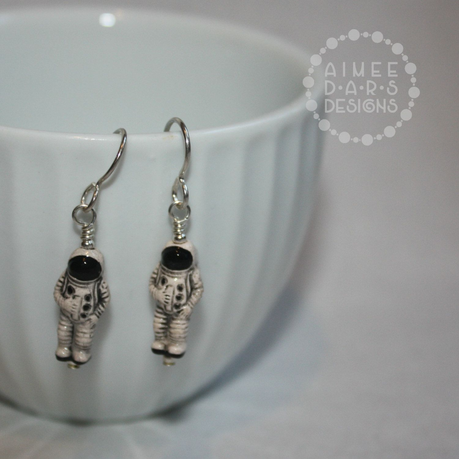 The Last Astronaut Doctor Who Inspired Earrings by