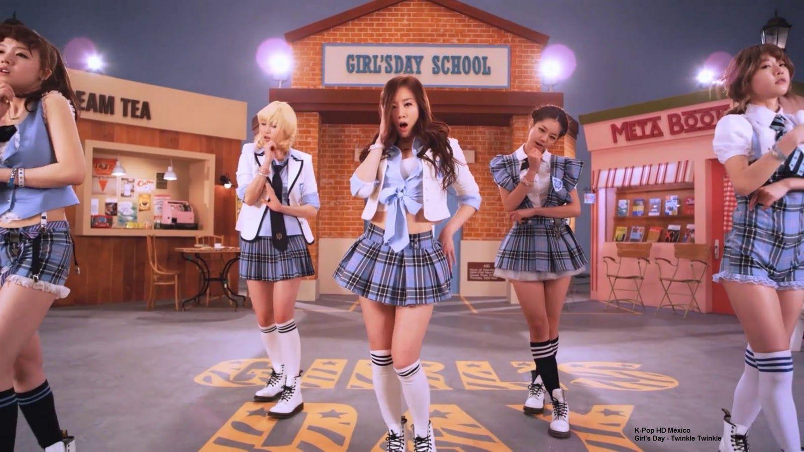 Girl's Day Twinkle Twinkle MV