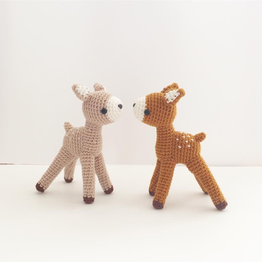 Crochet deer doll, amigurumi by isodreams