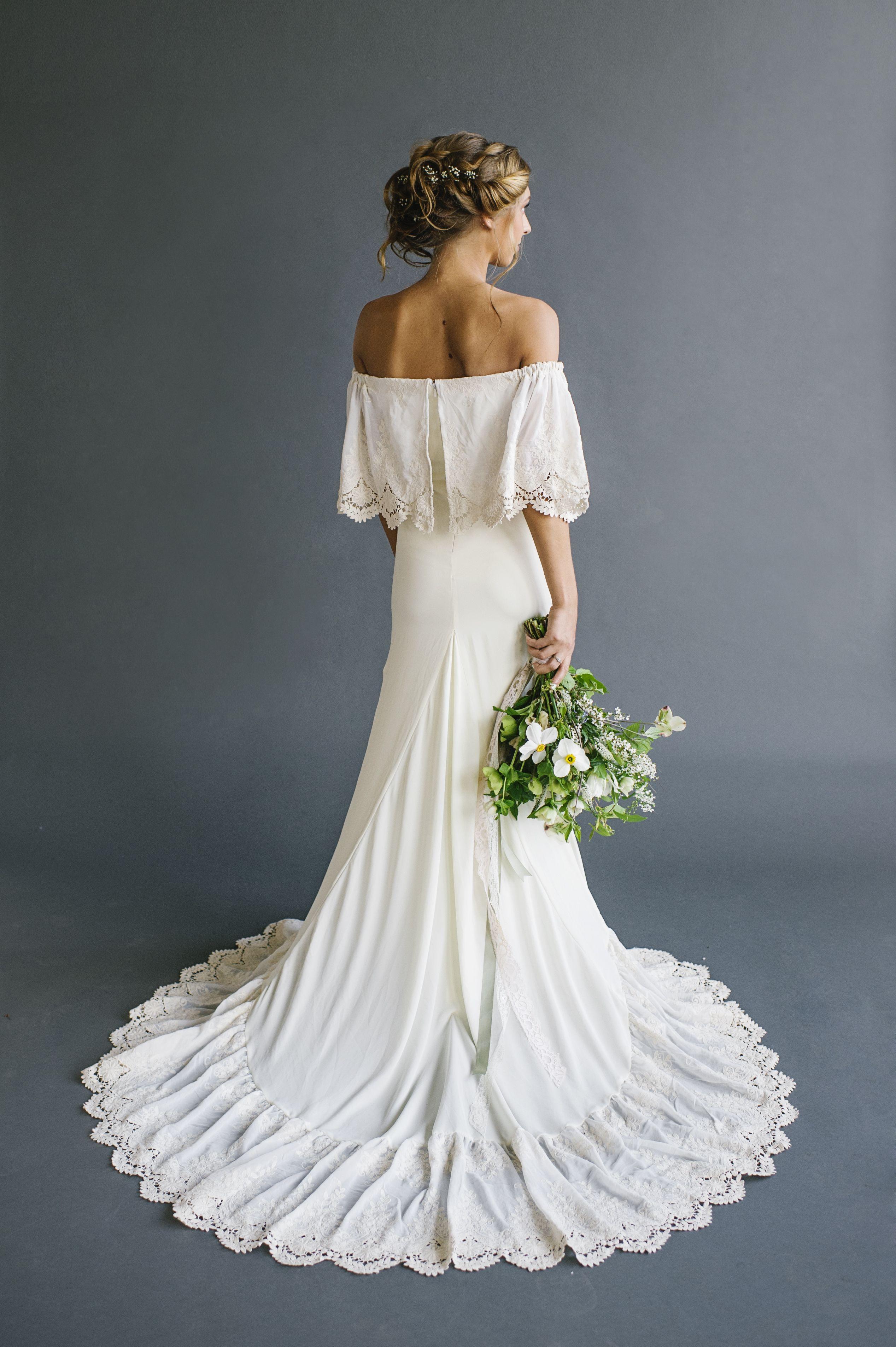 boho wedding dress 21 Effortlessly Beautiful Boho Wedding Dresses Beautiful Wedding and Bohemian