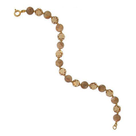 Crystal & Riverstone Bracelet