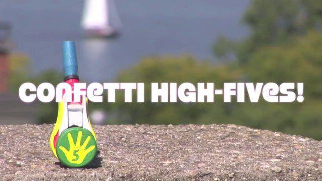 FiestaFive - Confetti High Fives | 30 Sec Promo