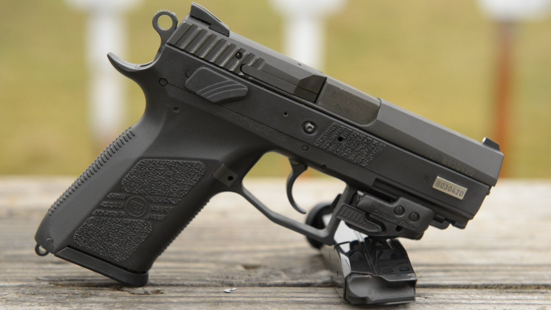 CZ 75 P-07 Duty  This thing is sweet  If only the barrel