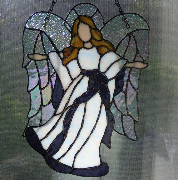 Handmade glass angel Angel of Grace