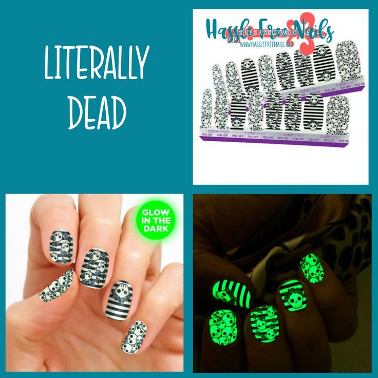 Literally Dead Get a-head of the Halloween nail game with ...