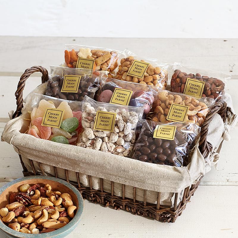 Nuts Sweets Snacks With Images Corporate Gift Baskets Food