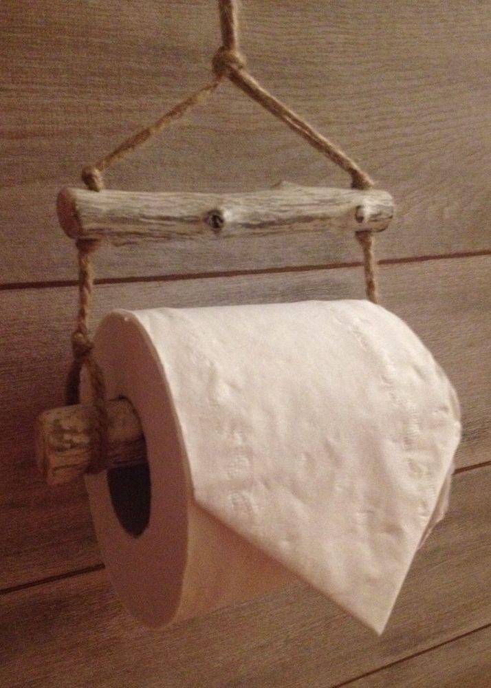 Driftwood Toilet Roll Holder