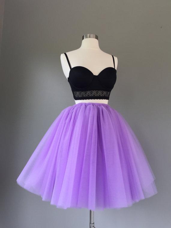 08f071f40 Lilac tulle skirt- adult tutu skirt- lilac tutu- Adult Bachelorette ...