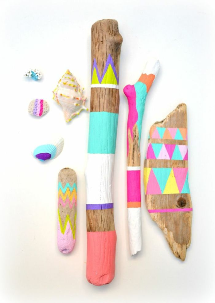 50 Idees Pour La Deco Bois Flotte Pinterest Craft Bricolage And