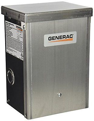 Generac 6375 15 Amp 125v Single Circuit Outdoor Manual Transfer Switch For Ma Transfer Switch Locker Storage Switch