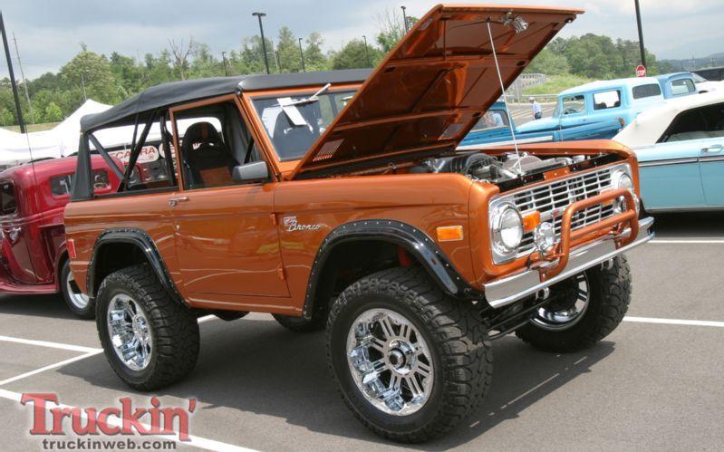 Bronze Bronco Classic BroncoClassic Ford