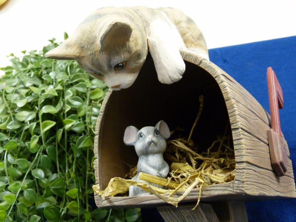 Brievenbus kat en muis (2)