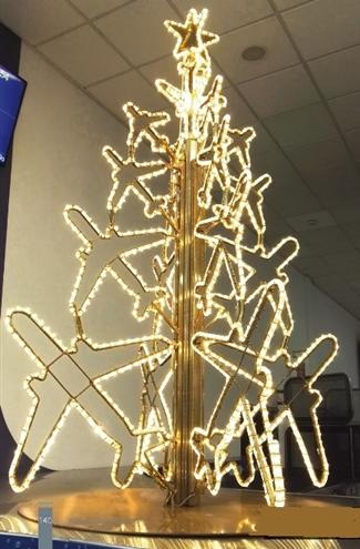 3 D Silhouette Airplane Tree Christmas Tree Design Christmas Light Displays Outside Christmas Decorations