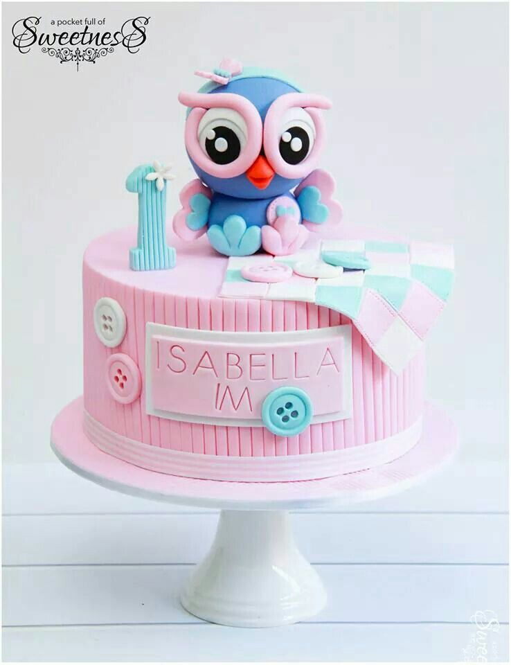 Pleasant Pin By Lorna Cochrane On Owl Cakes With Images Owl Cake Personalised Birthday Cards Sponlily Jamesorg