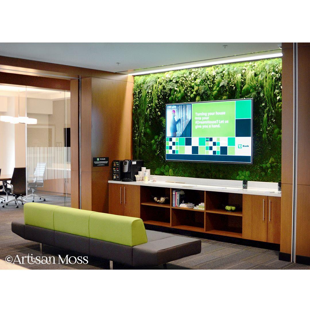 Beautiful Custom Moss Walls Panels Artisan Moss Green Wall Design Modern Living Room Brown Moss Wall