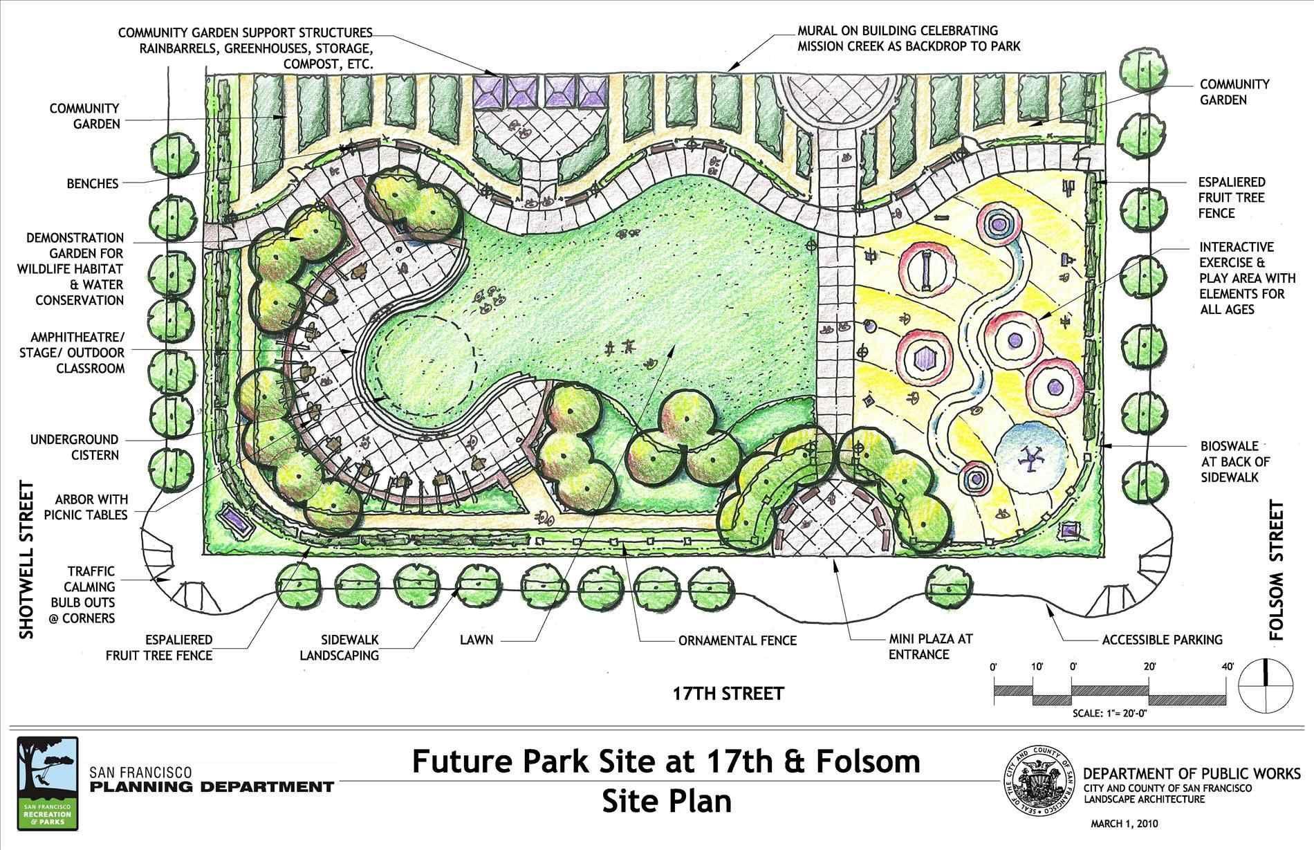 Mortar Landscape Design And Architecture Julie Moir Messervy Studio For A Julie Public Park Landscape Design Plan Moir Messervy Design 정원 가꾸기 정원 디자인 아이디어 조경설계