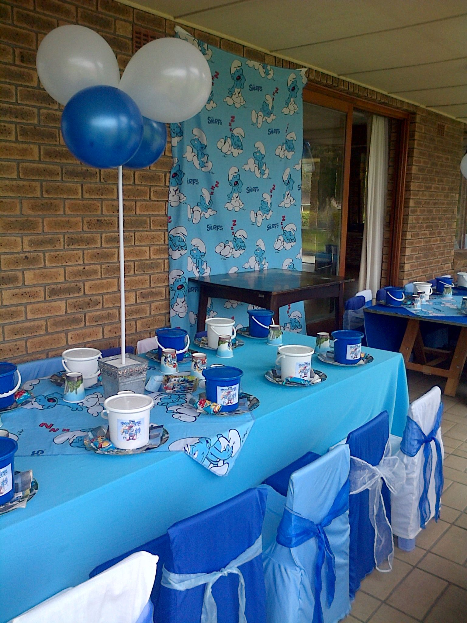 Smurfs Theme Decor General Kids Themes In 2019 Happy