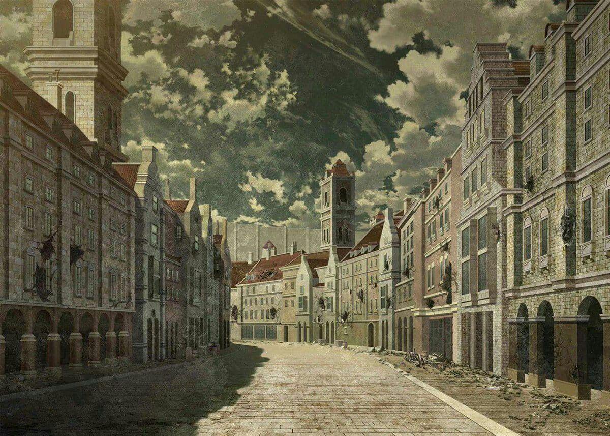 Anime Shingeki No Kyojin Attack On Titan Anime Scenery Wallpaper Anime Scenery Attack On Titan